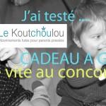 J'ai testé le Koutchoulou! (Concours pour un joli cadeau + ma tête pleine d'argile inside!!!)