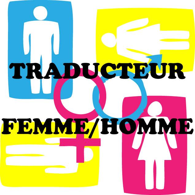 traduction homme femme