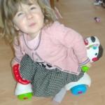 Elle a un avis sur tout (Ma fille est un Consobaby a elle toute seule!)