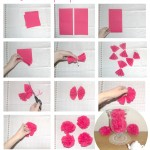 Apprends en 10 secondes à faire des pompons avec des serviettes en papier! (Idée déco mariage / baptême / anniversaire…)