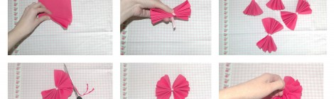 Apprends en 10 secondes à faire des pompons avec des serviettes en papier! (Idée déco mariage / baptême / anniversaire...)
