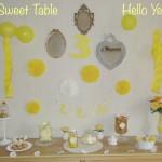 La Sweet Table pour les nuls… (Où comment réaliser une jolie déco avec 3 fois rien!)