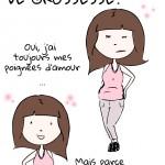 Le petit bidon d'après grossesse… (#humour)