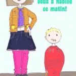 Le guide de l'habillage des enfants, spécial papas! (Cadeau pour toi, homme!) #Humour