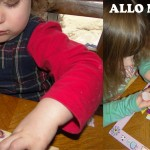 Des idées de cadeau pour les mamans et les mamies (DIY cadres et gommettes!)