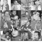 Aujourd'hui, tu as 2 ans… (24 photos, 24 souvenirs)