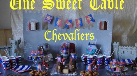 Un anniversaire de chevalier (Sweet Table + Idées déco DIY + Kit à imprimer!)