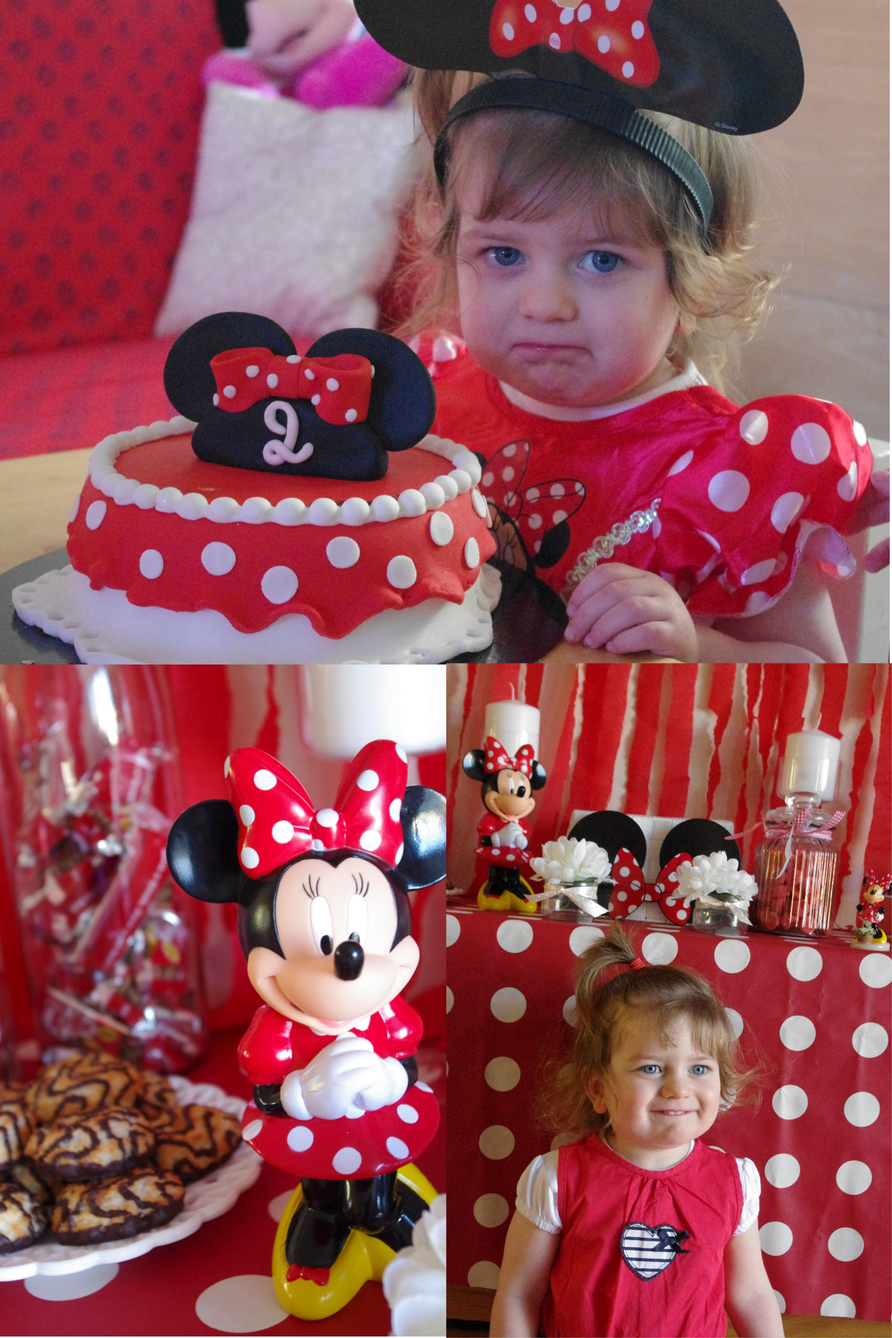 Un anniversaire minnie la d coration de la sweet table de - Decoration anniversaire minnie pas cher ...