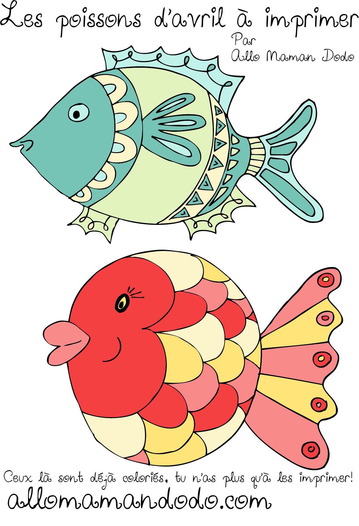 poisson d'avril à imprimer 4