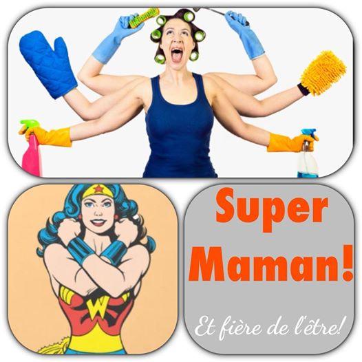 super maman image humour