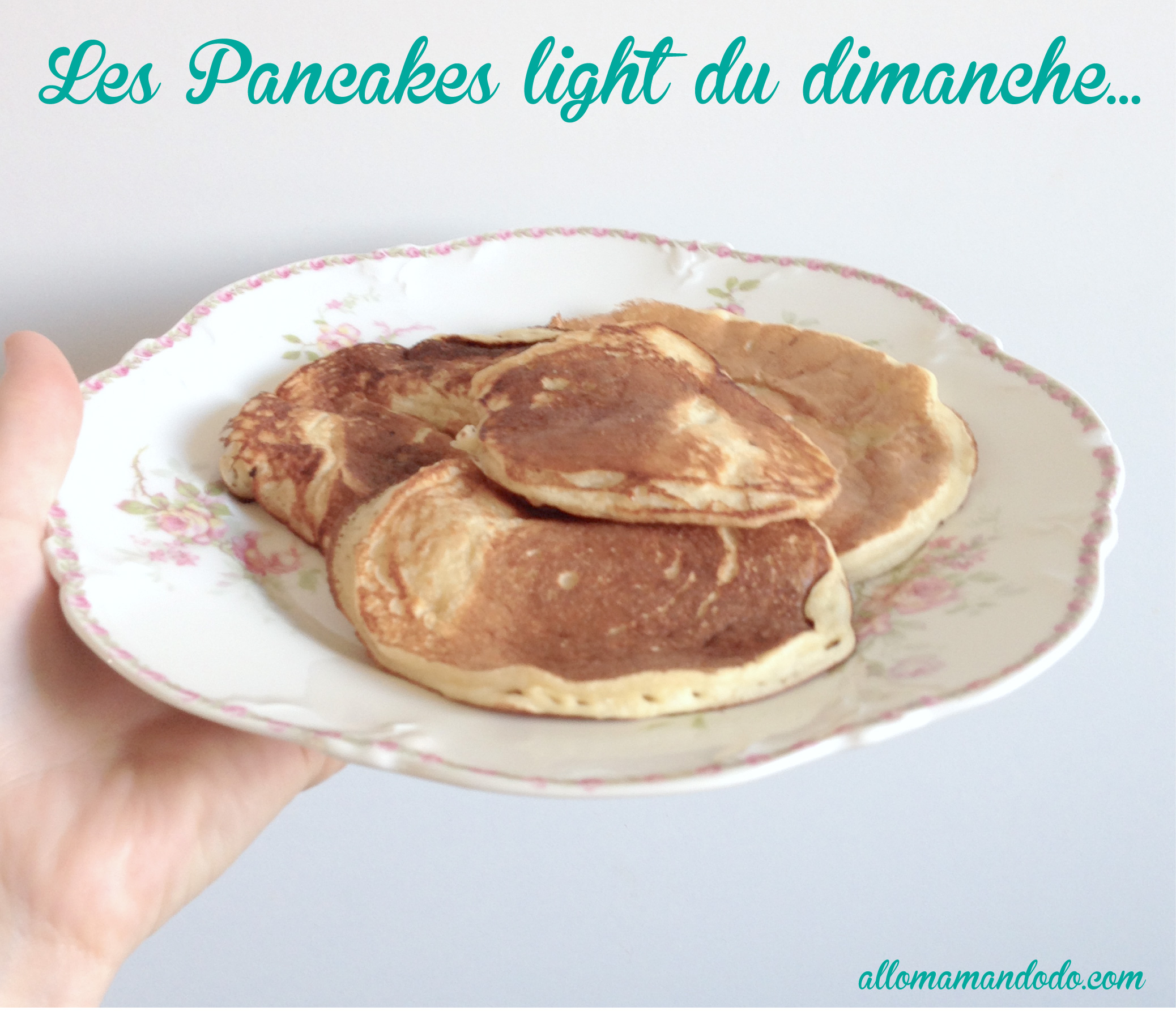 pancake healthy avec compote