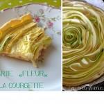Faire manger des légumes aux enfants: La tarte «fleur» aux courgettes