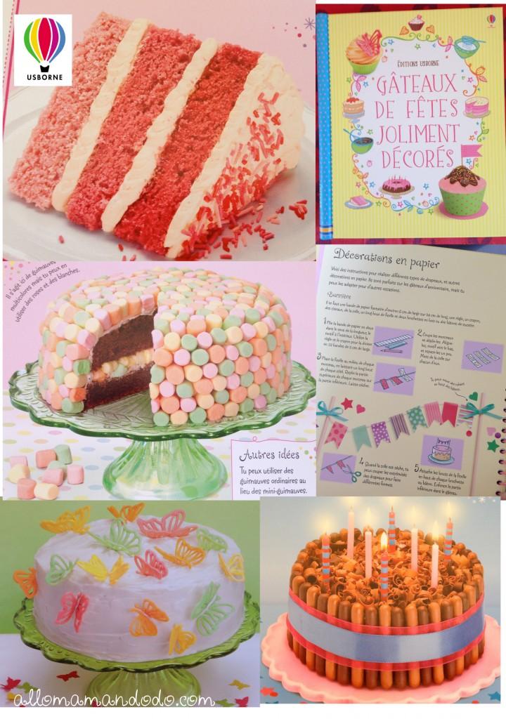 usborne livres gâteau de fêtes