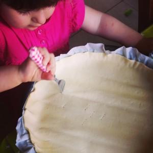 tarte cuisine enfant 2 ans