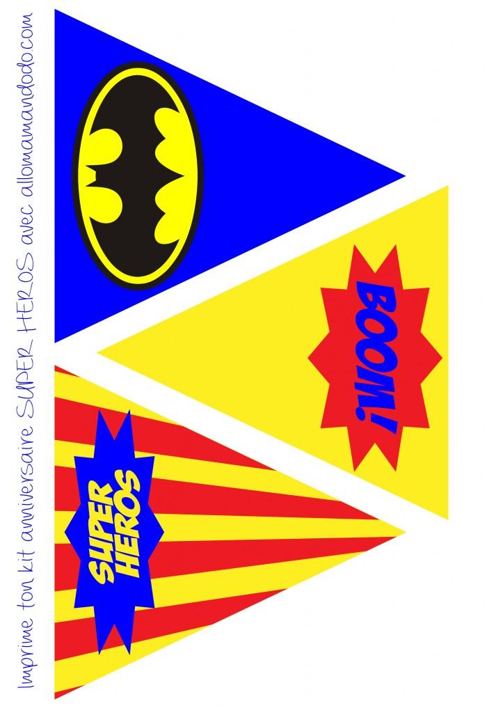 Un anniversaire de super h ros d co sweet table kit imprimer en cadeau allo maman dodo - Carte anniversaire super heros ...