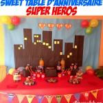 Un Anniversaire de Super-Héros! (Déco / Sweet Table / Kit à imprimer en cadeau!)
