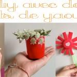 3 DIY faciles et rapides pour les enfants avec des pots de yaourt!