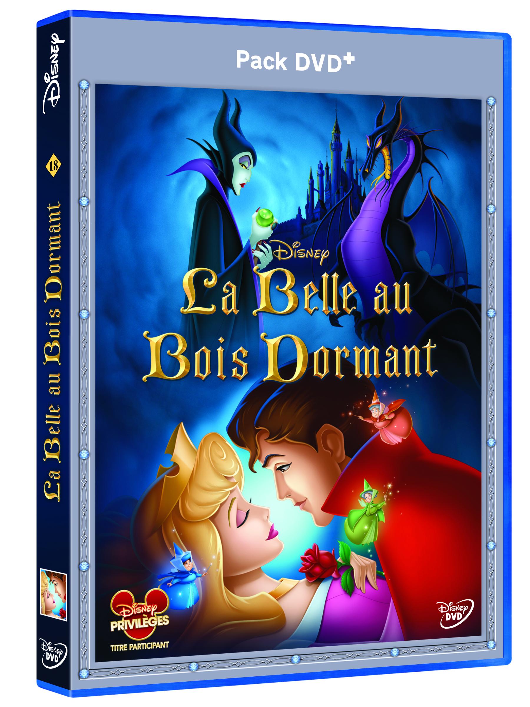 Gagne des DVD+ de La Belle Au Bois Dormant de Disney! (#Concours #  ~ La Belle Au Bois Dormant Dvd