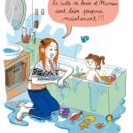 Ta mission: Faire prendre le bain à ton enfant (#humour #cadeau)