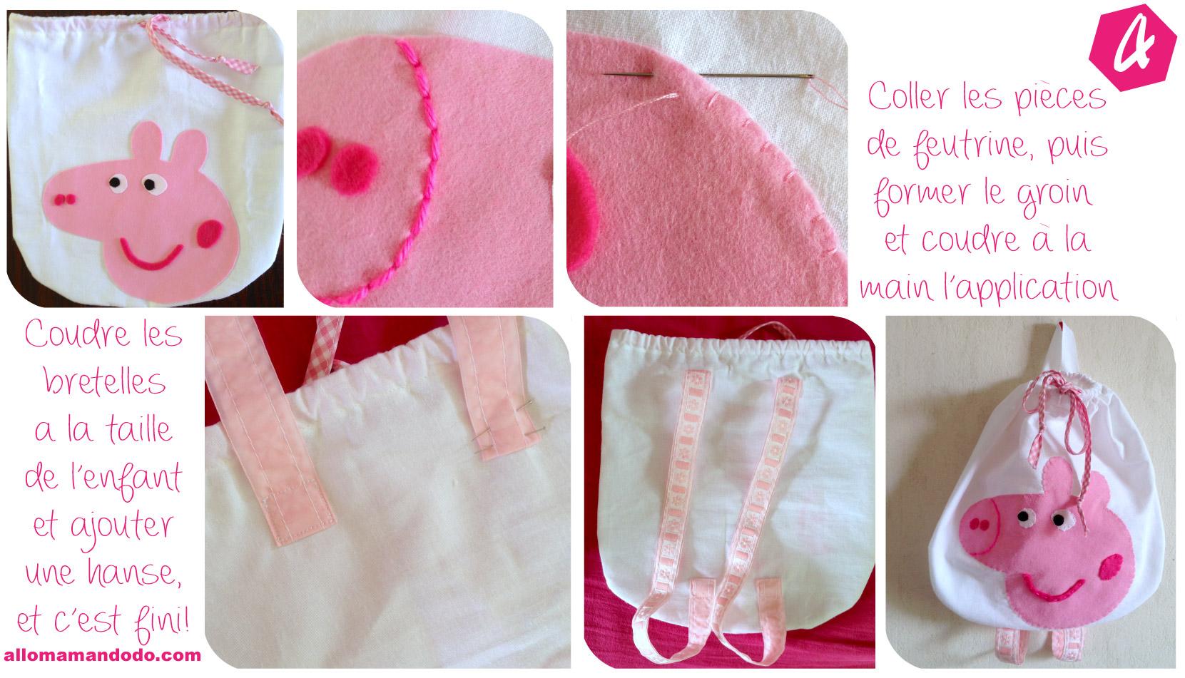 Son premier sac de maternelle diy couture facile allo maman dodo - Diy couture facile ...