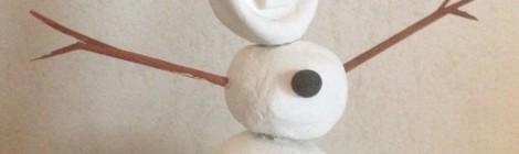 Tes décos de Noël DIY! (Tuto Olaf en modelage, avec Giotto!)