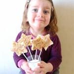 DIY facile: Des sucettes étoiles au chocolat!