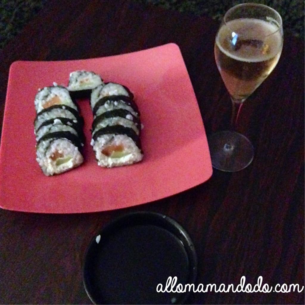 Le jour o mon mec a d cid de faire des makis et sushis maison allo maman dodo - Apprendre a cuisiner japonais ...