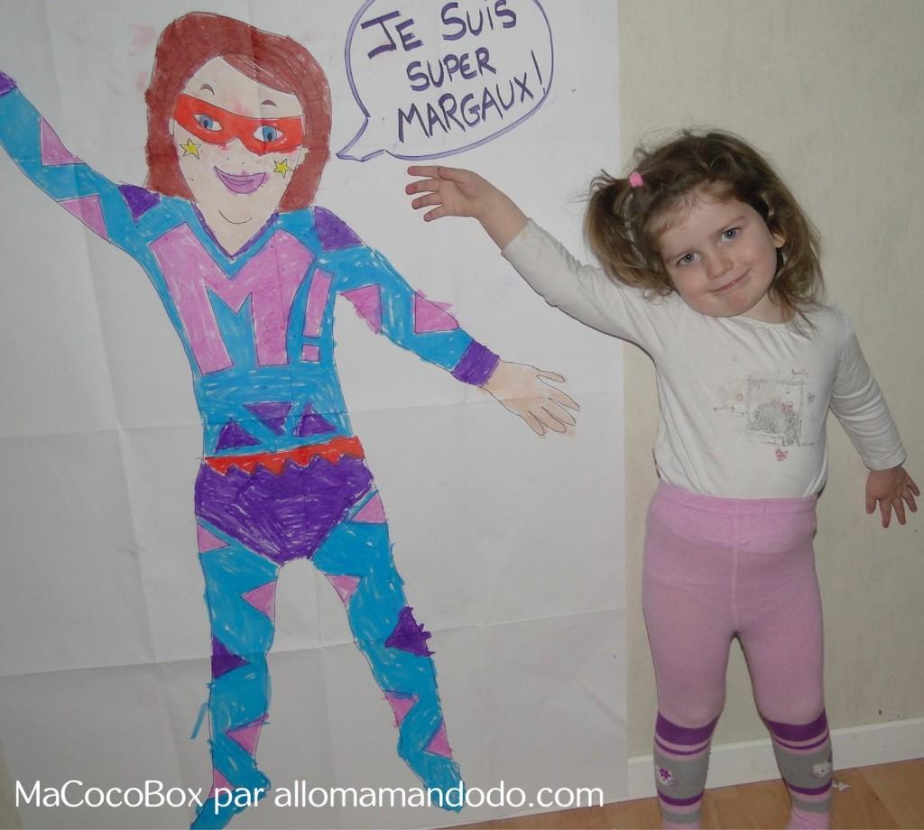 super héros dessin allomamandodo test macocobox