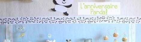 Son anniversaire Panda!