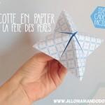 DIY Cocotte en papier pour papa! (Idée cadeau fête des pères)