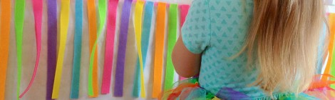 DIY Le Tutu Arc-En-Ciel de sa Rainbow-Party!