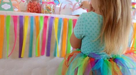 DIY Le Tutu Arc-En-Ciel de sa Rainbow-Party!