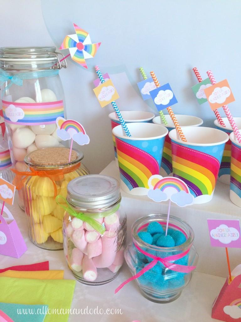rainbow party birthday