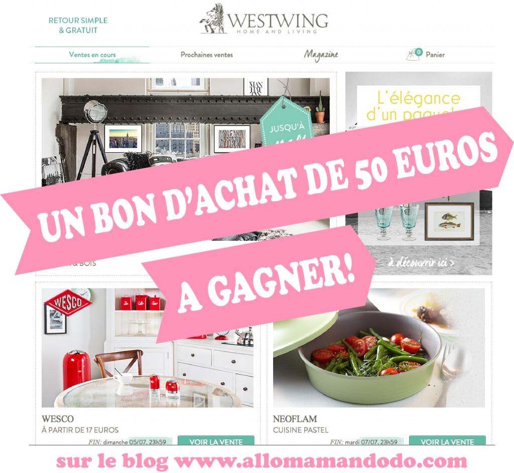 ma wishlist d co de l 39 t avec westwings concours 50 euros de bon d 39 achat gagner allo. Black Bedroom Furniture Sets. Home Design Ideas