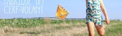 Fabrique un Cerf-Volant! (Activité pour enfant, DIY, tuto photos!)