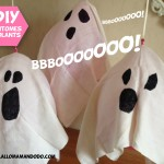Idée DIY dernière minute pour Halloween: Les Fantômes volants!