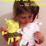 Fabrique un doudou à partir d'un dessin d'enfant: DIY et tuto photo!