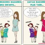 L'histoire de la mère qui en avait marre des bagarres (#humour!)