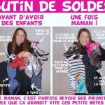 Vis ma Vie de Maman… Après Les soldes! (Humour!)