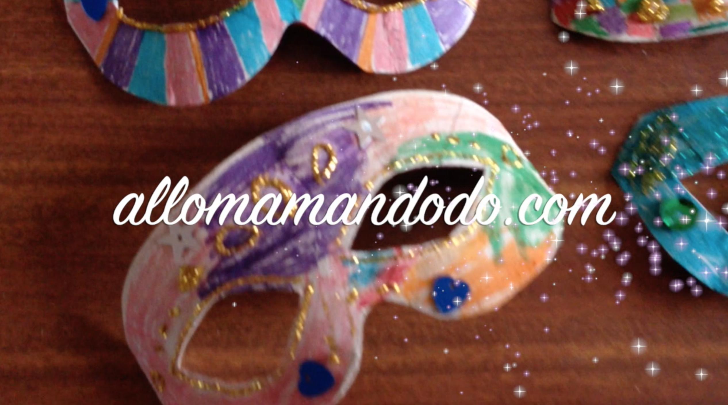 DIY: Fabrique des masques en carton, c'est facile ! (Tuto Vidéo)