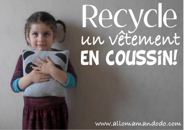 DIY: Recycle tes vieux T-shirt en Coussins! (Vidéo)