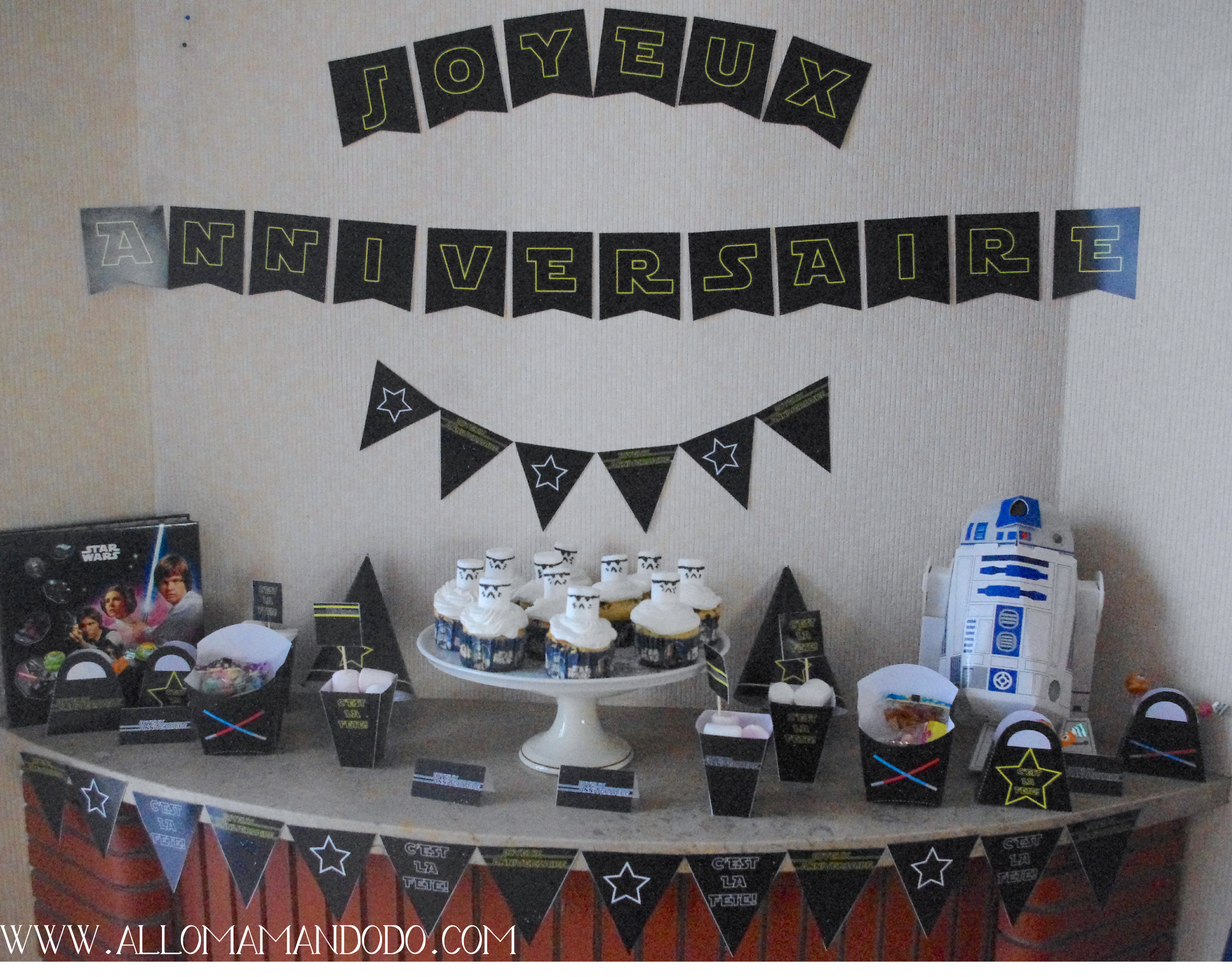 deco gateau anniversaire star wars arts culinaires magiques. Black Bedroom Furniture Sets. Home Design Ideas