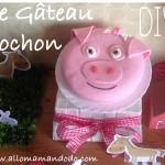 DIY: Le Gâteau Cochon ! (Tuto Photos)