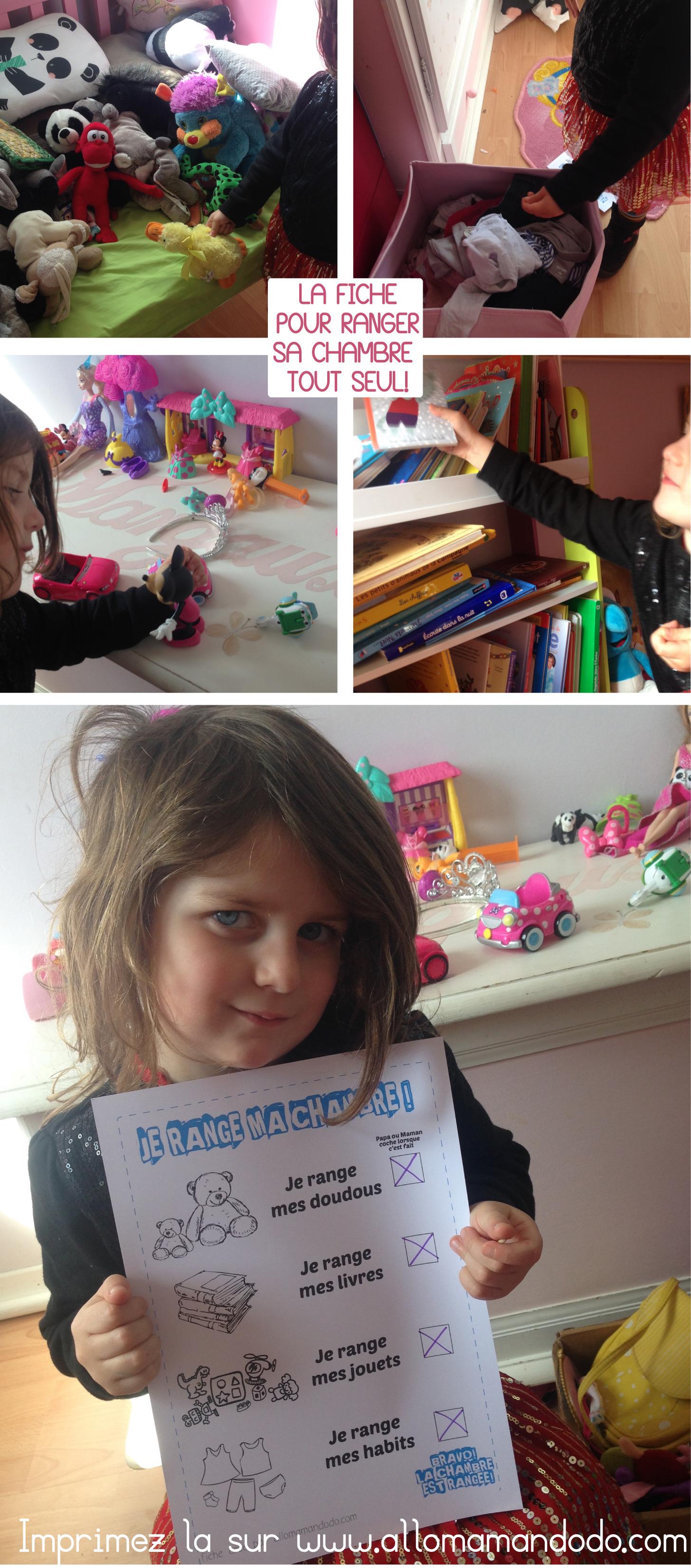 Coloriage Enfant Qui Range Sa Chambre : Range ta chambre fiche astuce pour que ton enfant