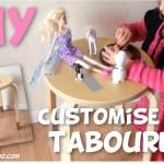 Customise des tabourets! (Tuto Vidéo!) #DIY