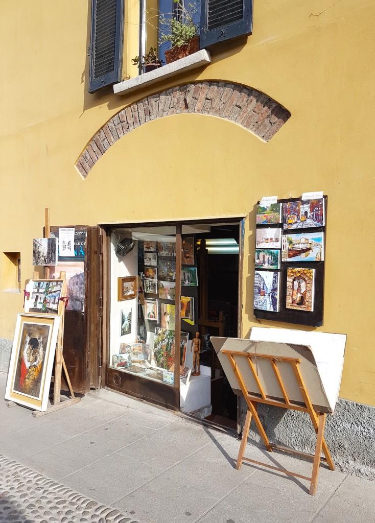milan boutique peintre