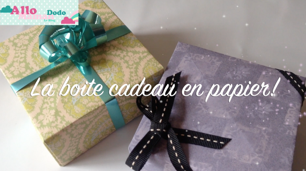 diy origami boite cadeau en papier allo maman dodo. Black Bedroom Furniture Sets. Home Design Ideas