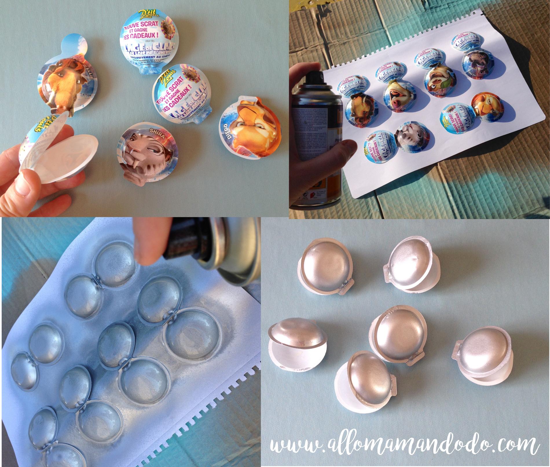 DIY coquillages perle