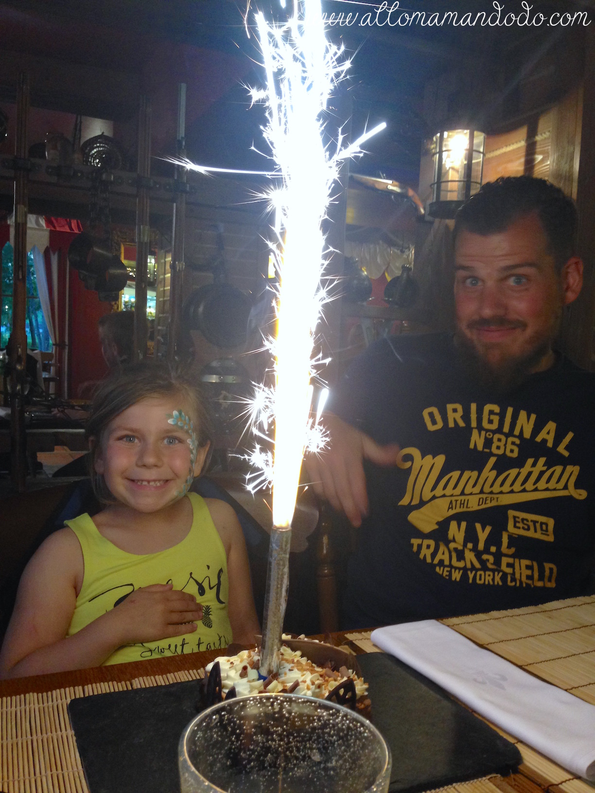 nigloland anniversaire gateau