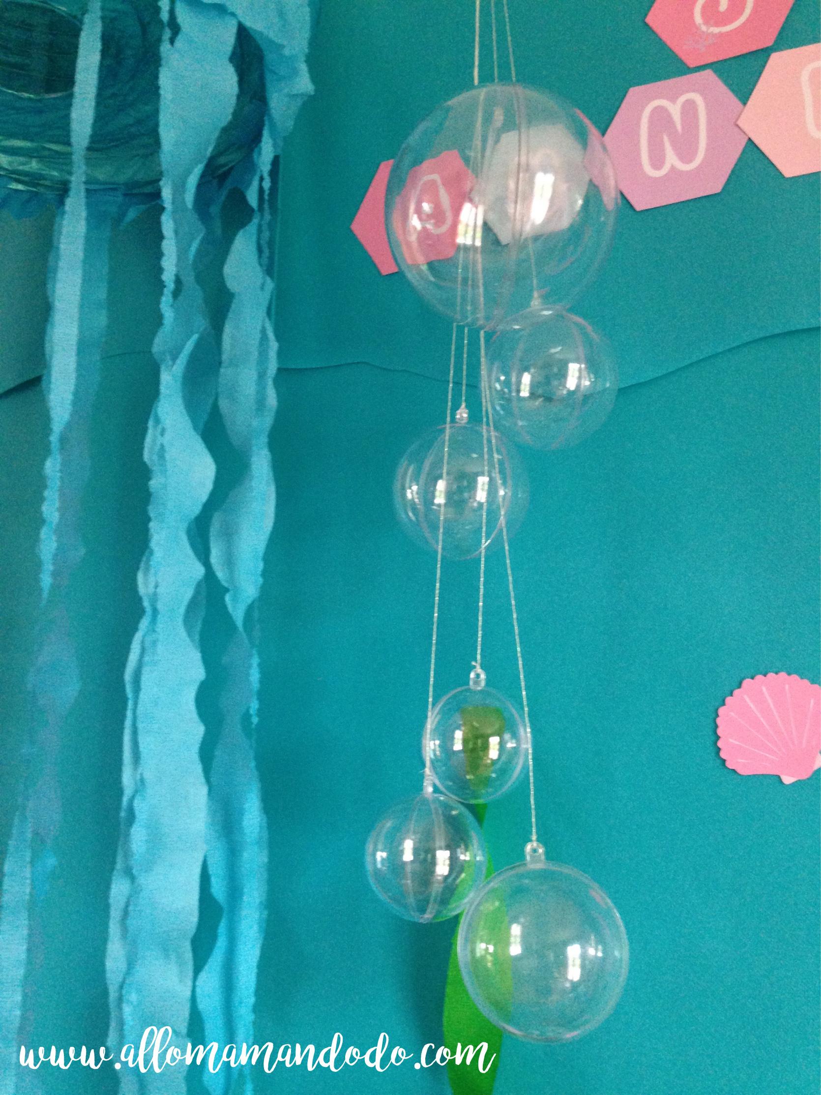 bulles eau déco